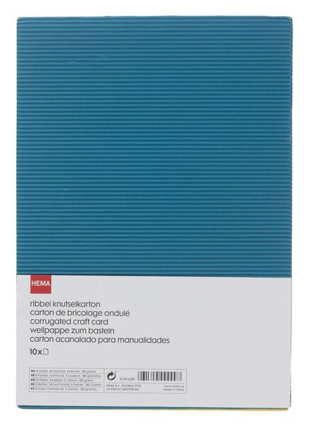 ribbel knutselkarton A4 - 15990319 - HEMA