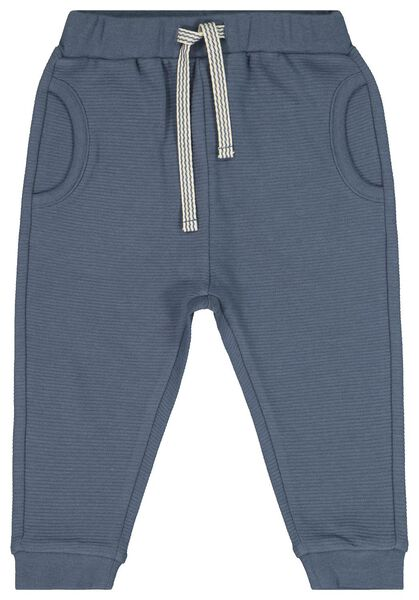 baby sweatbroek blauw blauw - 1000022146 - HEMA