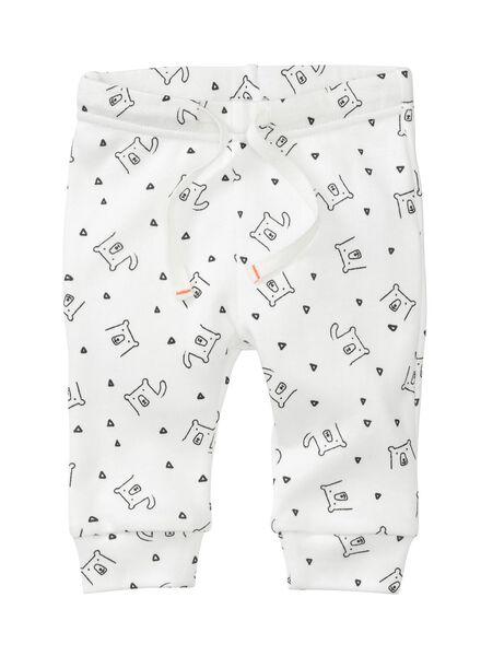 2-pak newborn broeken biologisch katoen grijs grijs - 1000005702 - HEMA