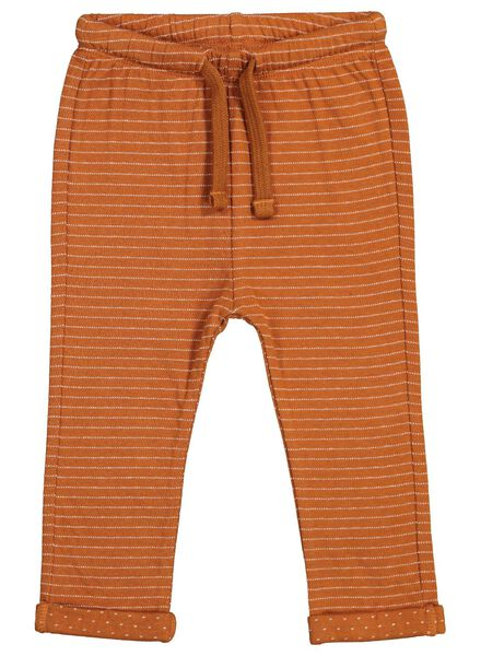 baby sweatbroek bruin bruin - 1000015559 - HEMA
