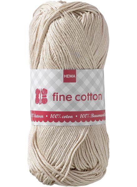 breigaren fine cotton - 1400011 - HEMA