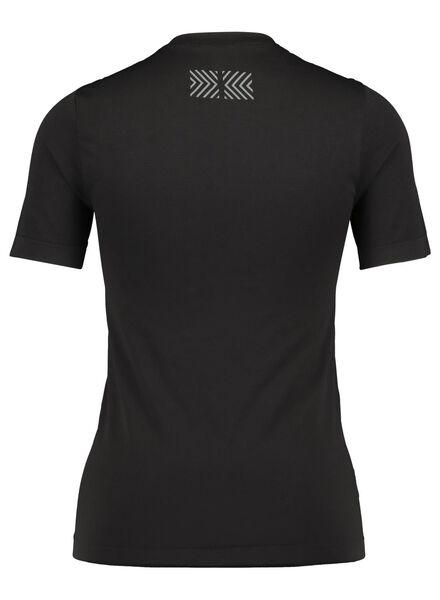 dames sportshirt zwart zwart - 1000017102 - HEMA