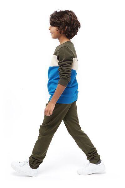 kindersweater donkergroen donkergroen - 1000017720 - HEMA