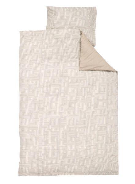 soft cotton dekbedovertrek 140 x 200 cm - 5750016 - HEMA
