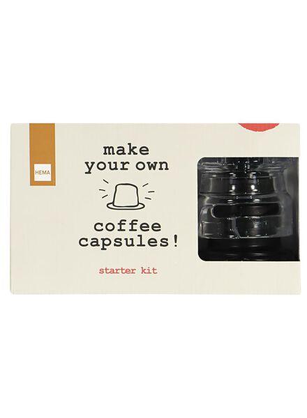 koffiecapsule maker startersset - 17150027 - HEMA