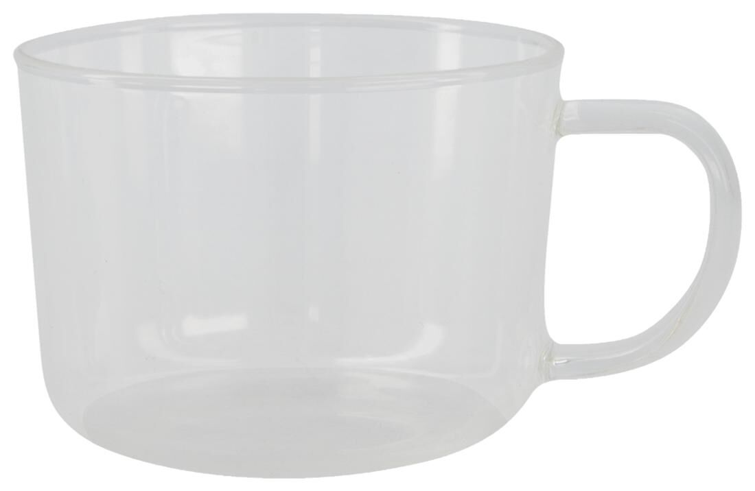 HEMA Cappuccinomok Chicago 330 Ml Glas (transparant)