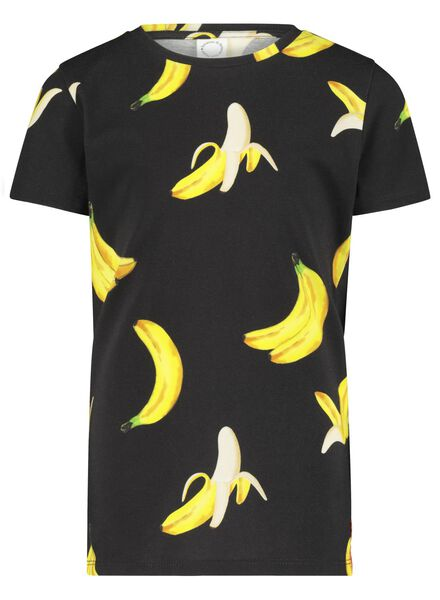 kinder t-shirt - Bananas&Bananas zwart zwart - 1000016542 - HEMA