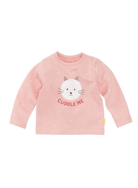 newborn t-shirt lichtroze - 1000008457 - HEMA