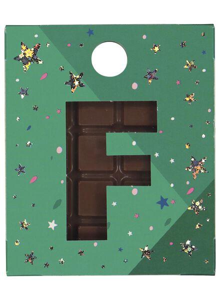 chocolade hangers letter A t/m Z melk melk - 1000017573 - HEMA