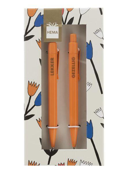 2-pak pennen - 60700121 - HEMA