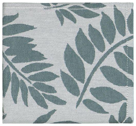 HEMA Theedoek 65x65 Katoen Bladeren Groen