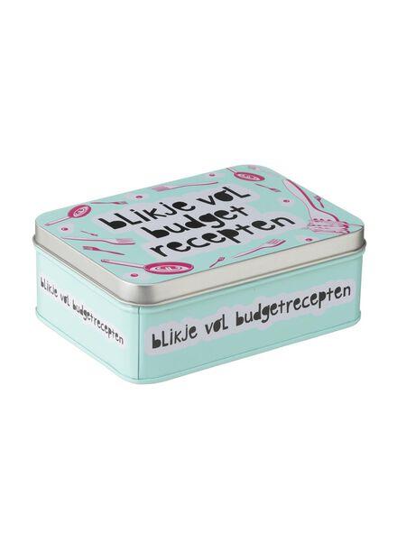 blikje vol budget recepten - 60050021 - HEMA