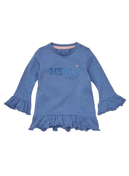 baby t-shirt blauw - 1000008689 - HEMA