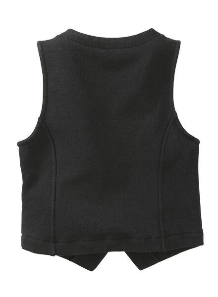 kindergilet zwart zwart - 1000004775 - HEMA