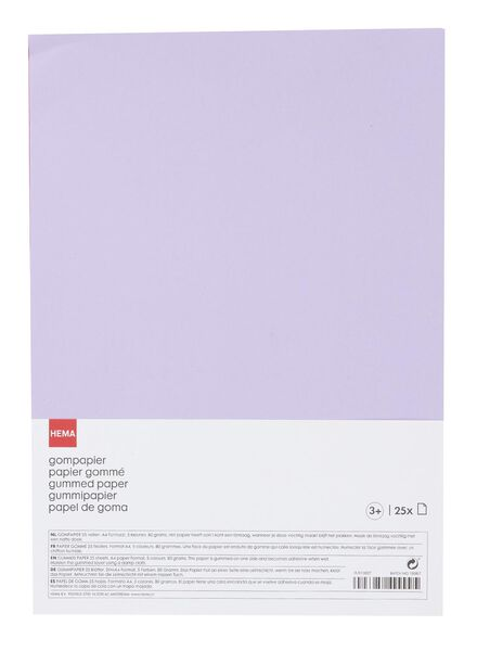 25-pak gompapier - 15970027 - HEMA