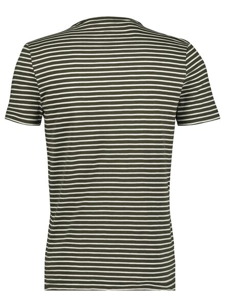 heren t-shirt groen groen - 1000014692 - HEMA