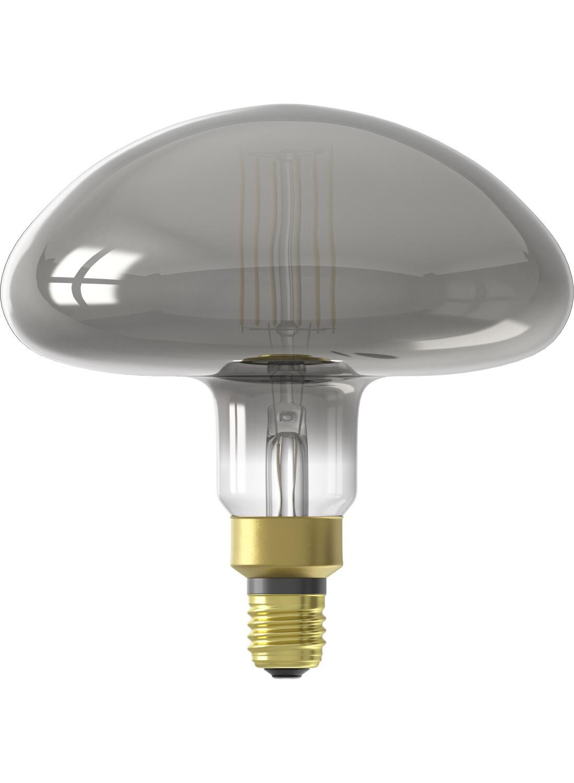 HEMA LED Lamp 6W – 220 Lm – Paddenstoel – Titanium (grijs)