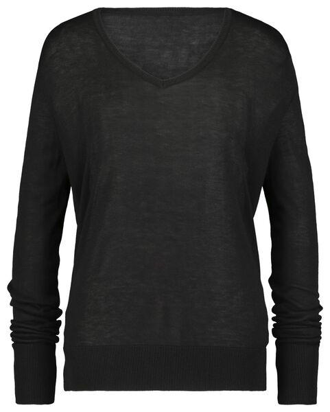 damestrui zwart zwart - 1000018239 - HEMA
