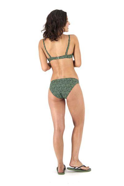dames padded bikinitop push up legergroen legergroen - 1000017929 - HEMA