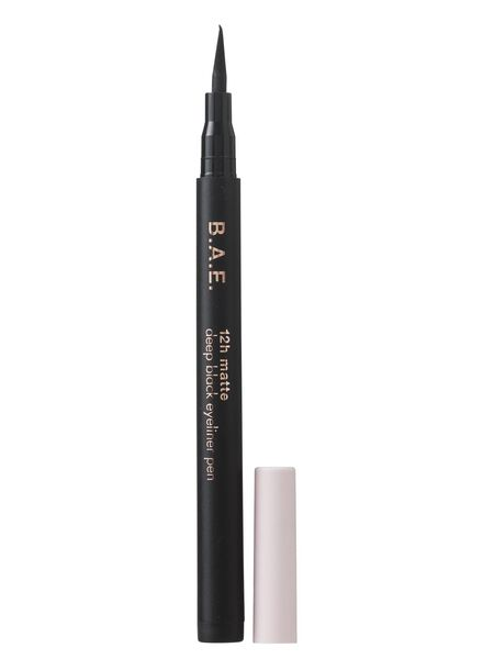 B.A.E. eyeliner pen 12h mat deep black - 17700020 - HEMA