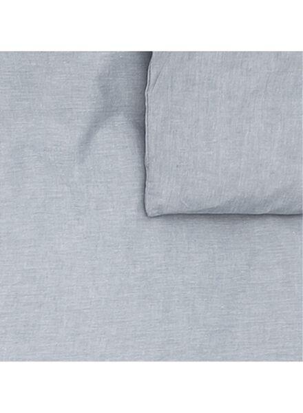 chambray dekbedovertrekset 200 x 200 cm - 5700063 - HEMA