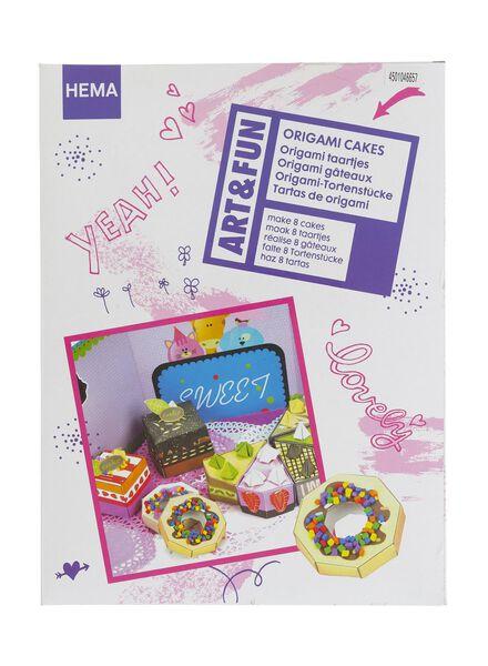 origami taartjes - 15910073 - HEMA