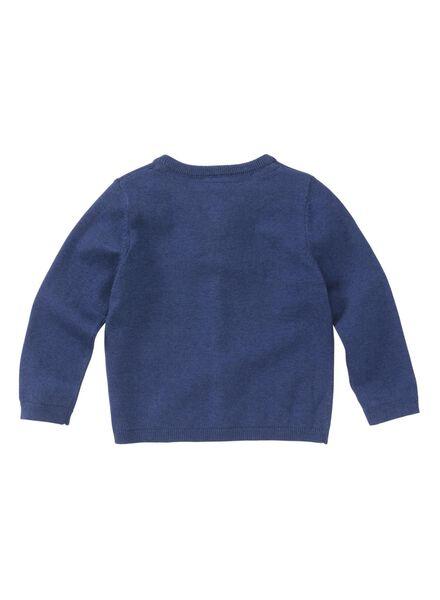 babyvest blauw blauw - 1000008286 - HEMA