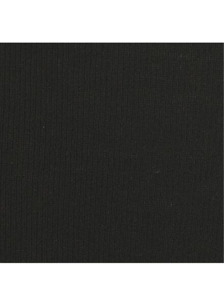 2-pak damesslips katoen zwart 48 - 19660850 - HEMA