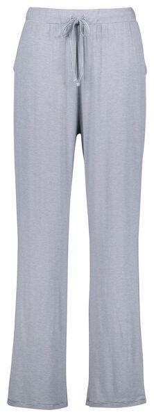 dames pyjamabroek viscose streep blauw blauw - 1000025113 - HEMA