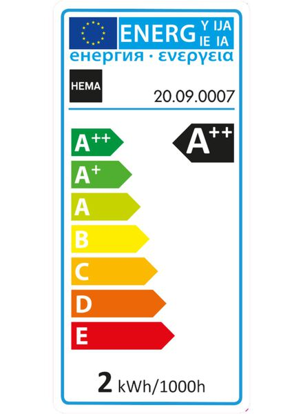 LED lamp 21 watt - 20090007 - HEMA