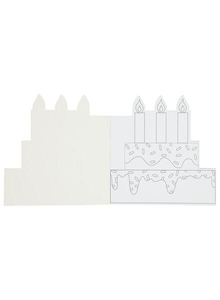 kleurboek taarten - 15920014 - HEMA