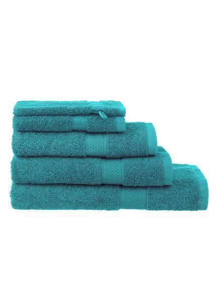handdoeken - zware kwaliteit groen groen - 1000015174 - HEMA