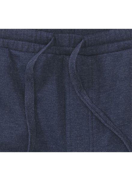 herensweatbroek donkerblauw donkerblauw - 1000012941 - HEMA