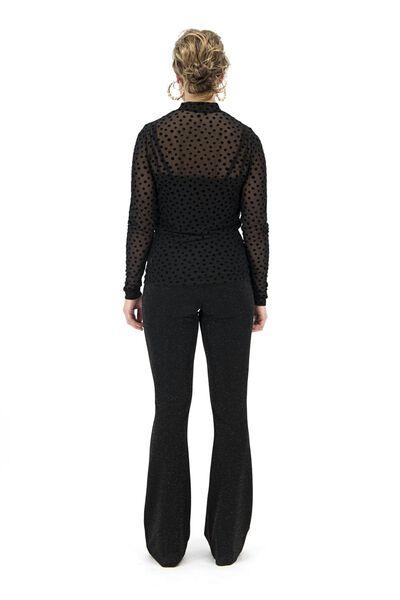 dames top zwart zwart - 1000017409 - HEMA
