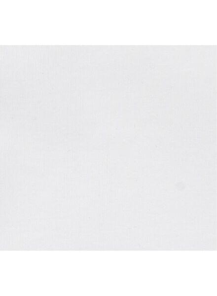 2-pak kinder t-shirts - biologisch katoen wit 146/152 - 30729145 - HEMA