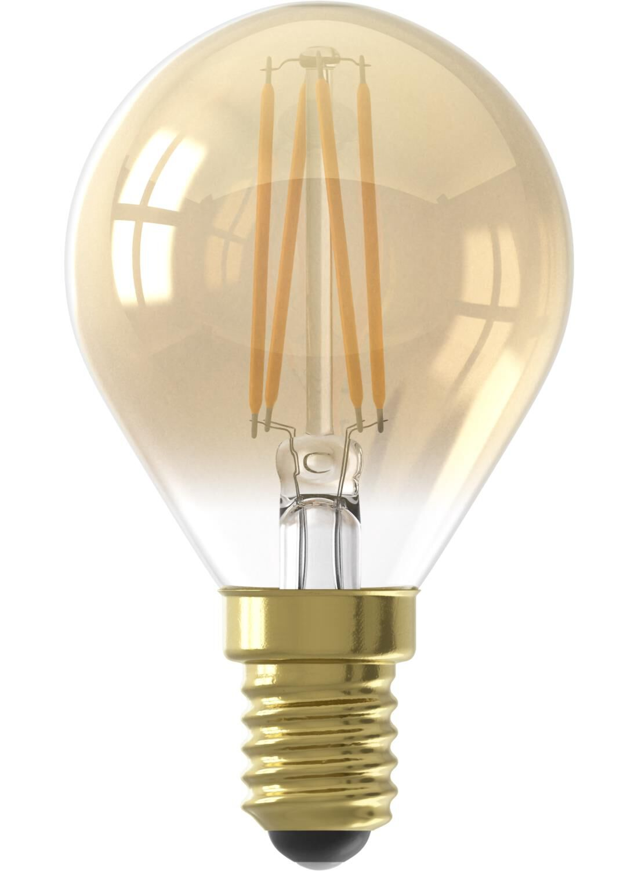 HEMA LED Lamp 3,5W – 200 Lm – Kogel – Goud (goud)
