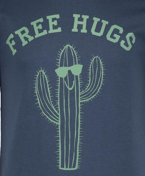 2-pak kinder t-shirts blauw blauw - 1000018907 - HEMA