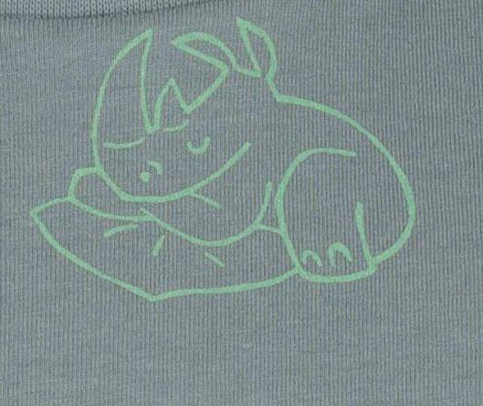 kinder t-shirt groen groen - 1000019115 - HEMA