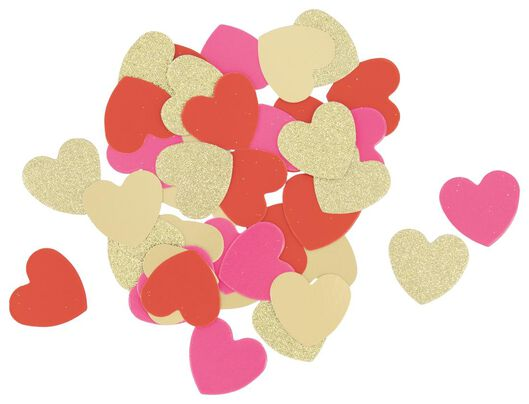 confetti hartjes - Valentijn - 60800818 - HEMA