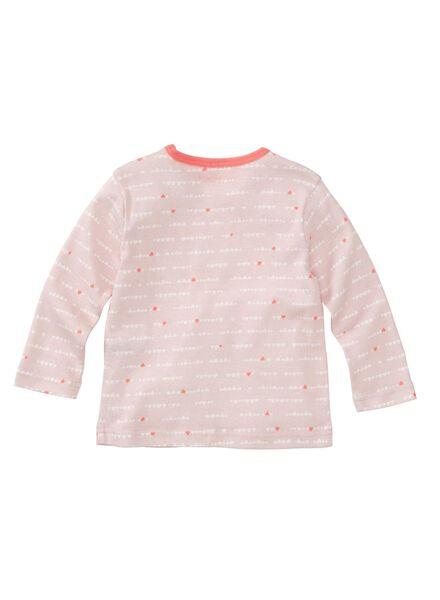 2-pak baby pyjama's roze roze - 1000005332 - HEMA