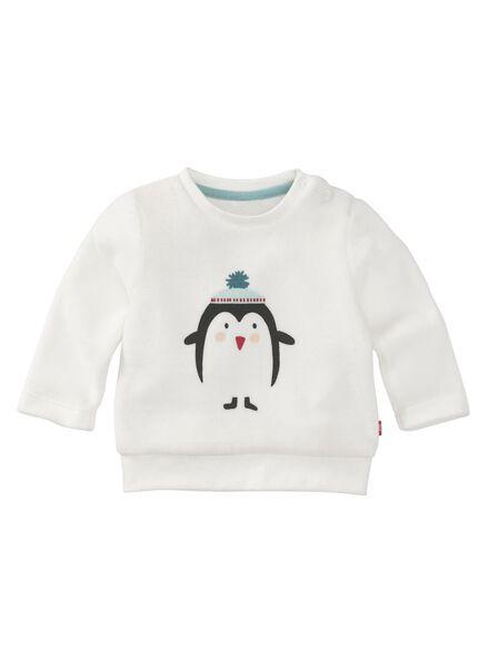 newborn trui wit wit - 1000010689 - HEMA