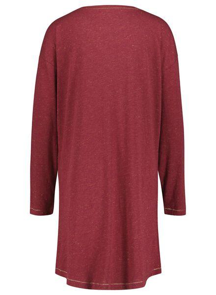 dames nachthemd rood rood - 1000017234 - HEMA