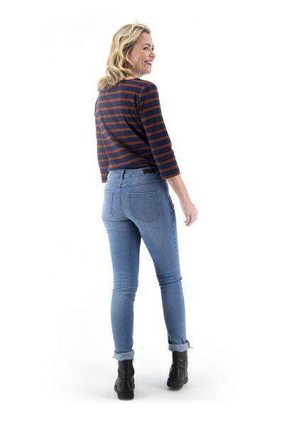 dames jeans - skinny fit lichtblauw 42 - 36307530 - HEMA