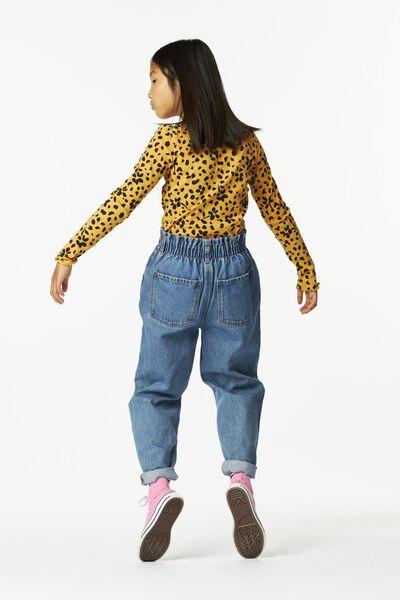 kinder t-shirt rib geel geel - 1000024758 - HEMA