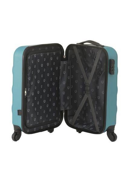 koffer - 55 x 35 x 20 - groen stip - 18600245 - HEMA