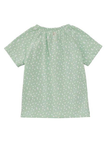 2-pak baby t-shirts mintgroen mintgroen - 1000010868 - HEMA