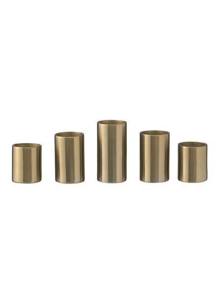 kaarshouders magnetisch - 5 x Ø 2.3 - goud - 5 stuks - 13382074 - HEMA