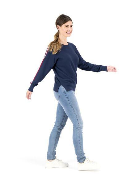 damessweater donkerblauw donkerblauw - 1000014857 - HEMA