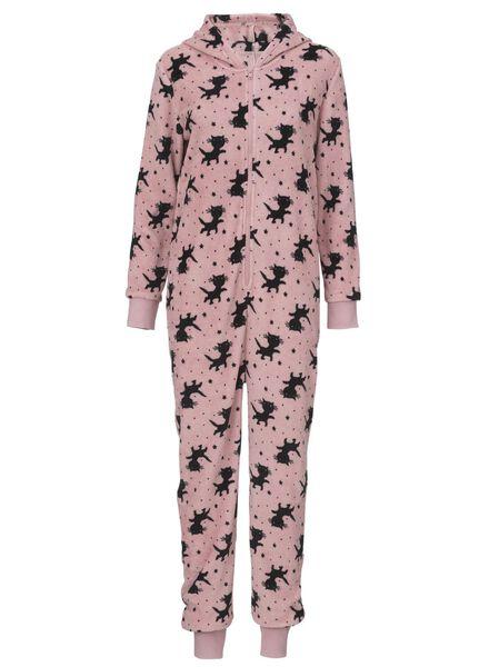 dames onesie roze roze - 1000009984 - HEMA