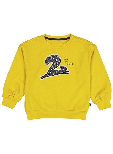kindersweater geel geel - 1000013866 - HEMA